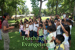 teaching and evangelism